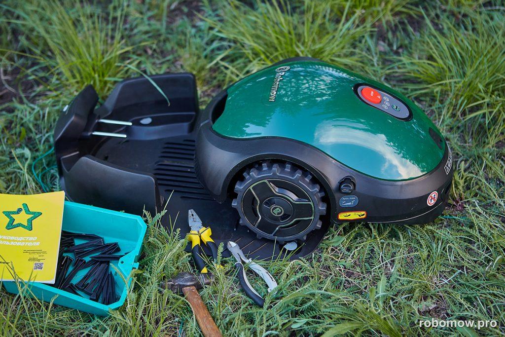 Робот-газонокосилка Robomow RX